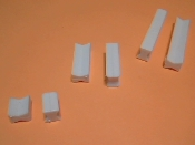 Dovetail Pins, Plastic Inserts