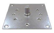 Universal Gear Plates for Roll Shutters