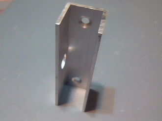 Bahama Hold Down Bracket for Concrete Mounting
