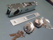 Complete Mortise Lock, Hi-Rise Shutters