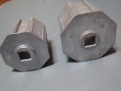 Aluminum Gear Insert for Roll Shutters