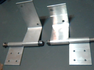 HV Colonial Hinges for Wood or Concrete