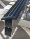 Bunk Rail and Pad for Boat Trailers