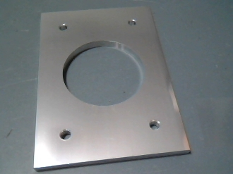 Outrigger Mounting Base Plate