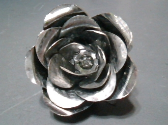 Galvanized Steel Roses for Crafts