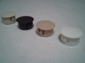 Roll Shutter Track Hole Plugs