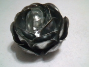 Galvanized Steel Roses for Crafting