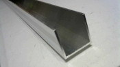 Aluminum Channel Rail 2 x 2