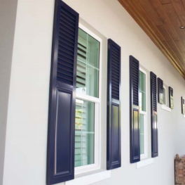 Decorative Colonial Shutter Panels